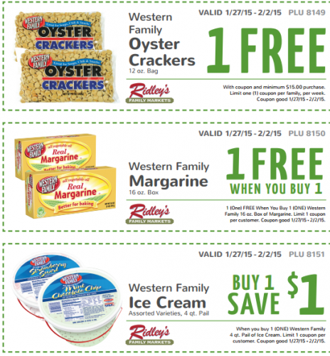 Ridleys Email Weekly Coupons! Free Oyster Crackers! - http://www.couponconnectionidaho.com/ridleys-email-weekly-coupons-free-oyster-crackers/