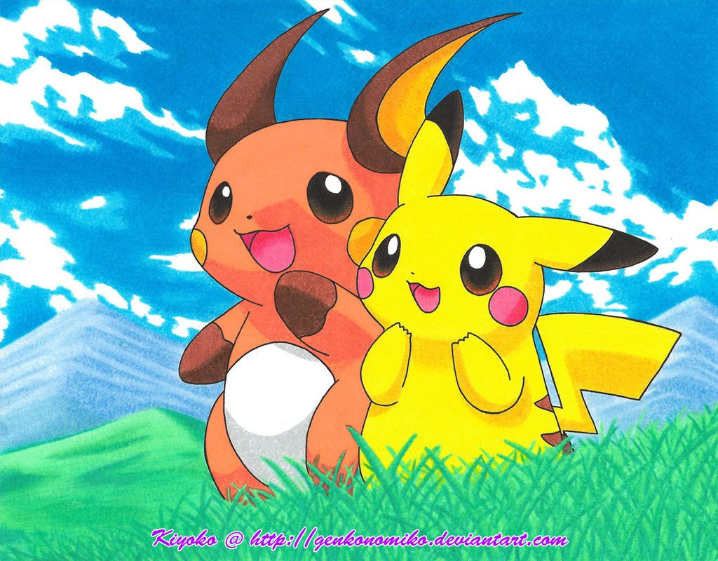 Uncategorized Raichu And Pikachu pikachu and raichu pokemon pinterest admiring the scenery another x pic that i had planned to draw from some time ago pik