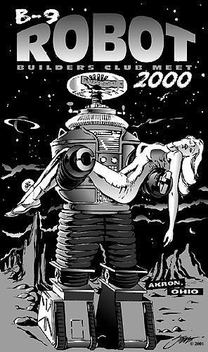 B 9 Robot By Steve Stanley Anything Robby Can Do I Can Do Better Ilustraciones Perdidos En El Espacio Retro