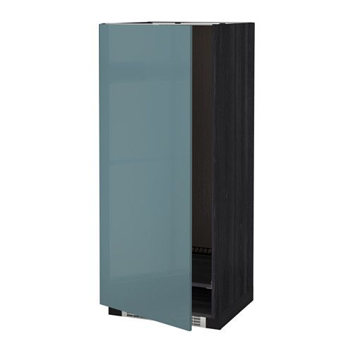 Best Metod High Cabinet For Fridge Freezer Black Kallarp Grey 640 x 480