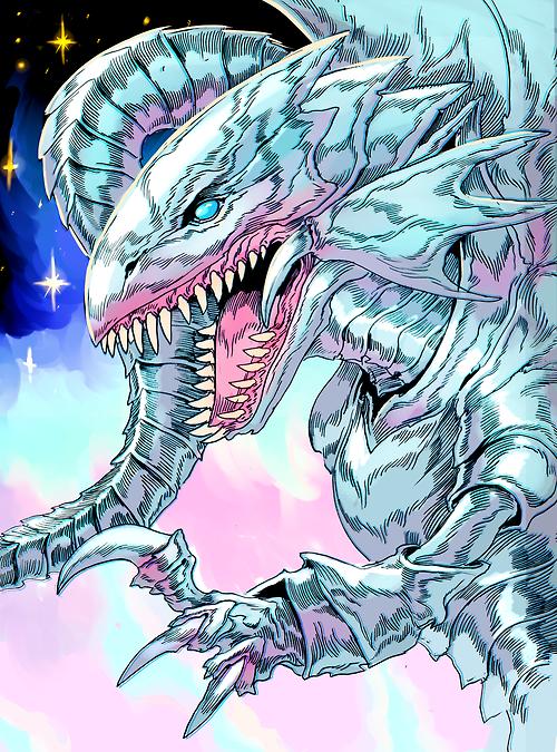 Http Witnesstheabsurd Tumblr Com Post 91676738990 Blue Eyes White Dragon White Dragon Anime Art Art