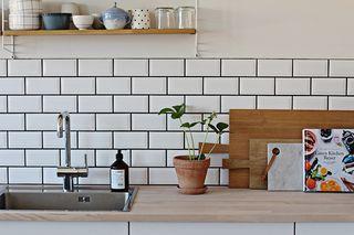 Køkkenstemning og en glutenfri mums-opskrift
