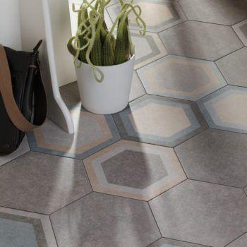Azulejos hexagonales traffic combi 002 parquets - Azulejos hexagonales bano ...