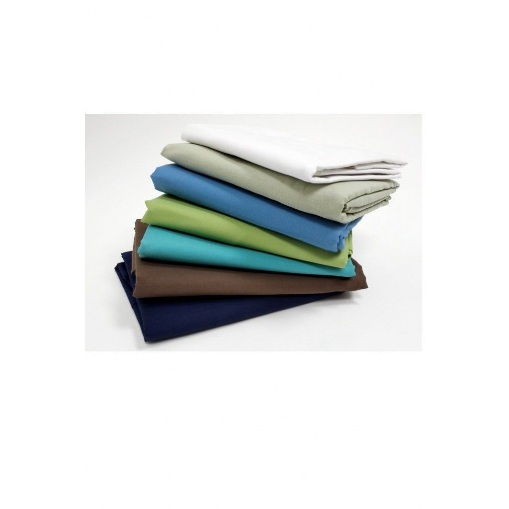 """BODY PILLOWCASE -200 THREAD COUNT 21""""X 54""""- MULTIPLE COLORS"""