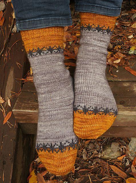 Arctic Dawn pattern by Tiina Kuu #knitting