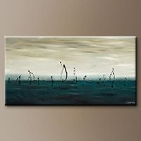 Extra Large Abstract Art - Sailing - Modern Art
