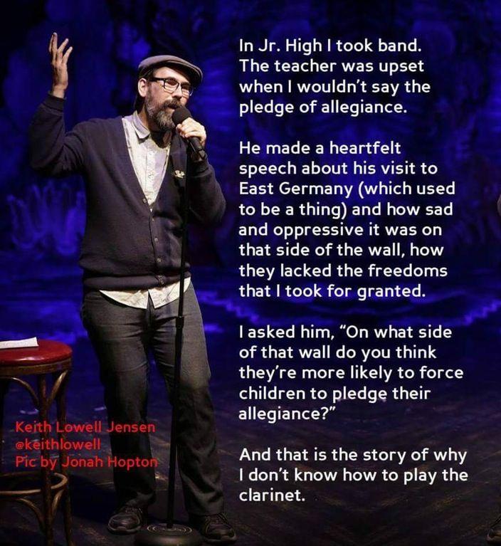 #KeithLowellJensen, #KeithLowell, #comedian , #comedy , #funny , #StandUp , #Jokes , #fun , #comic , #lol , #joke