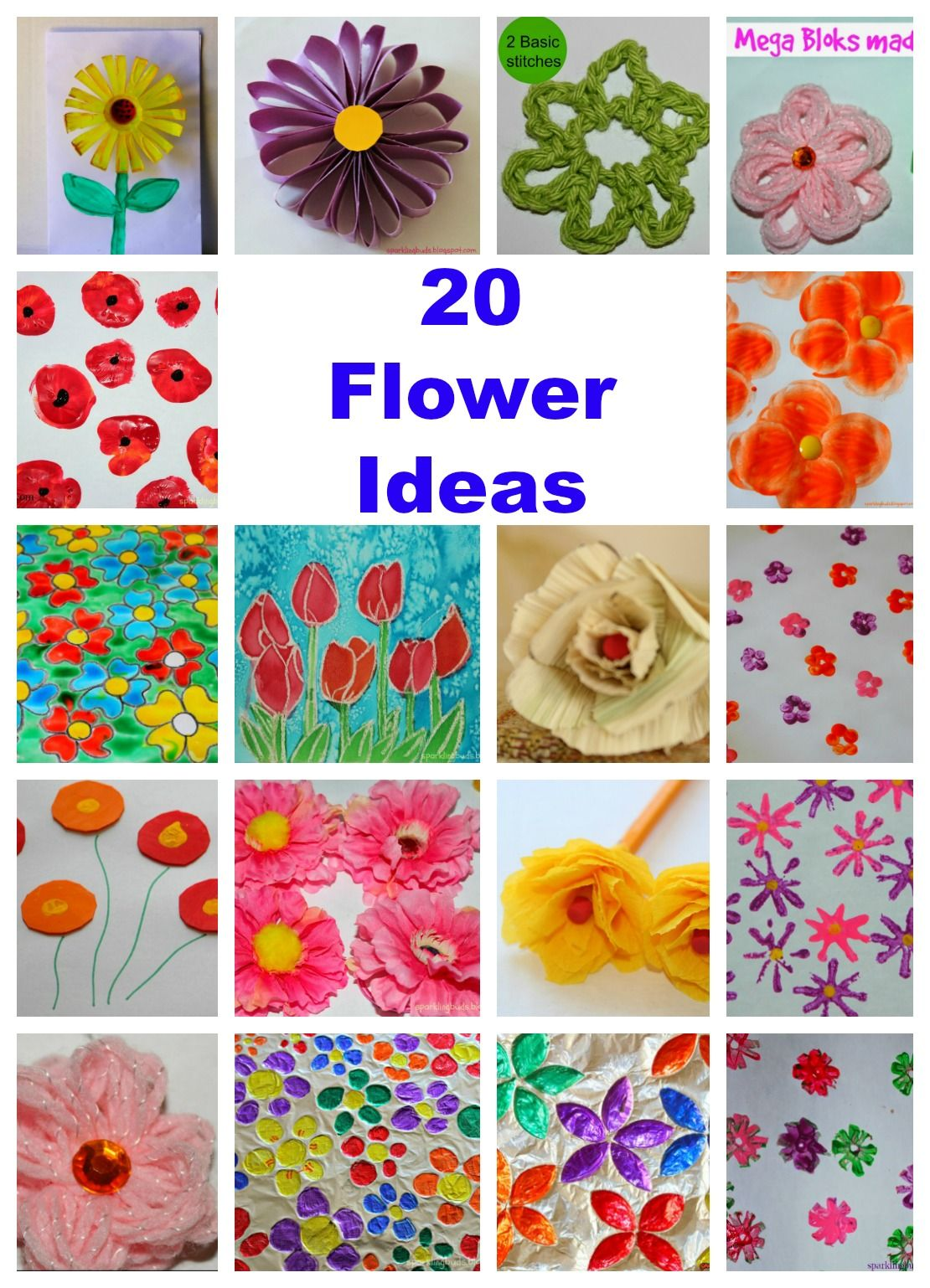 20 Flower Ideas To Make For Spring