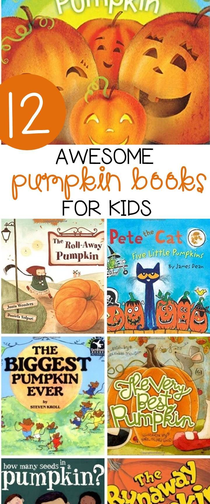 these pumpkin books for kids are great to read this fall  [ 720 x 1728 Pixel ]