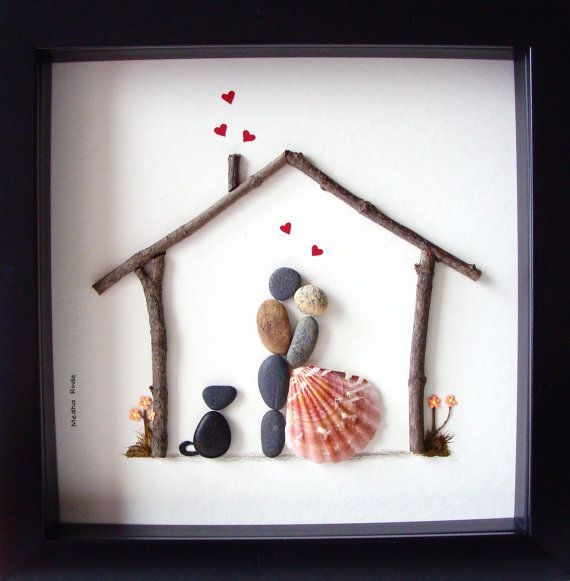 unique house warming gift family of two and dog by medharode - Unique House Gifts