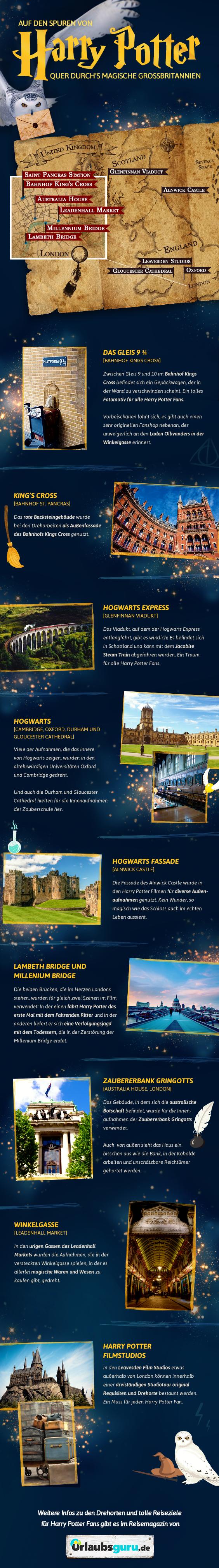 Die Harry Potter Drehorte In Grossbritannien Urlaubsguru De London Urlaub Grossbritannien Reisen