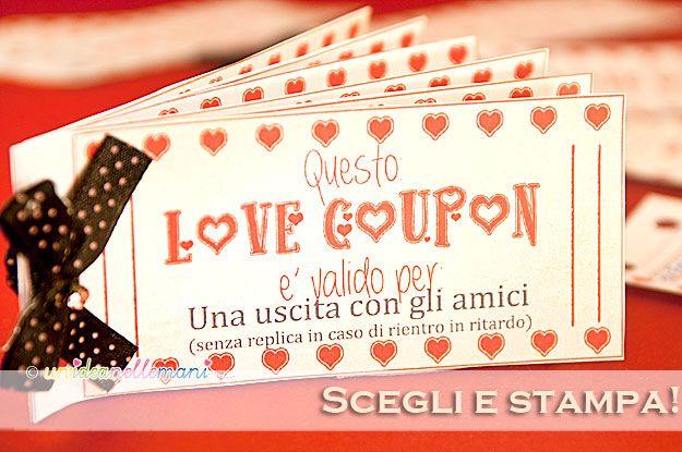 Biglietti san valentino da stampare hai mai regalato i for Oggetti in regalo gratis