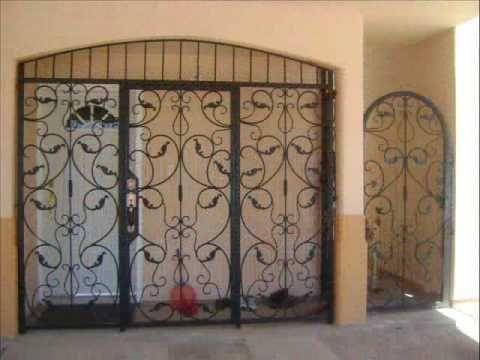 Port n en hierro y aluminio puertas y ventanas antiguas - Hierro y aluminio ...