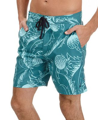 cd1c8a3208787 Nautica Swimwear, Pineapple Boardshorts - Swimwear - Men - Macy's ...