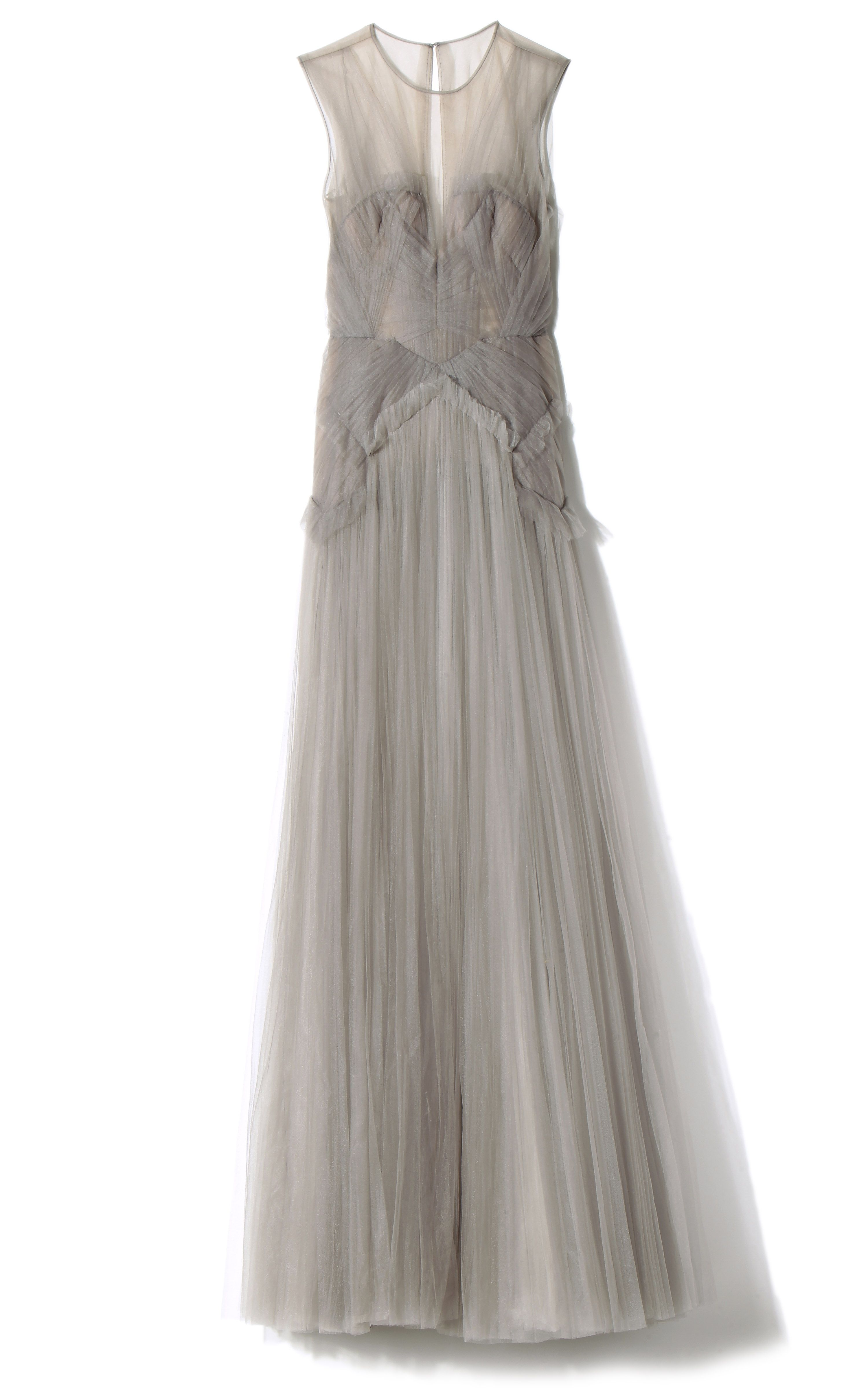 Hand Pleated Evening Gown by J. Mendel for Preorder on Moda Operandi ...