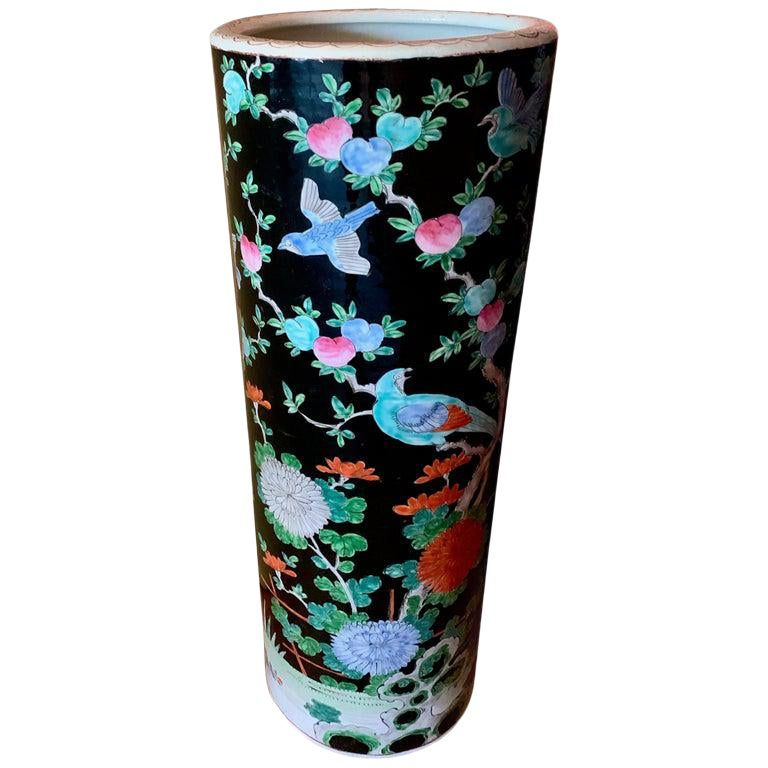 Porcelain Chinese Umbrella Stand Vase Chinese Umbrella Umbrella Stand Porcelain