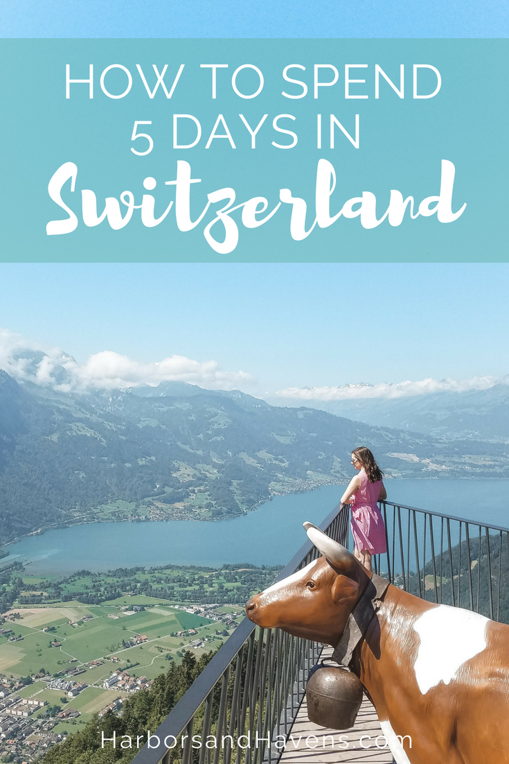 Road Trip: The Best Switzerland Itinerary for 5 Days This Switzerland road trip itinerary will help you plan your vacation to see cute villages, gorgeous castles, soaring mountains, emerald lakes and more!This Switzerland road trip itinerary will help you plan y...