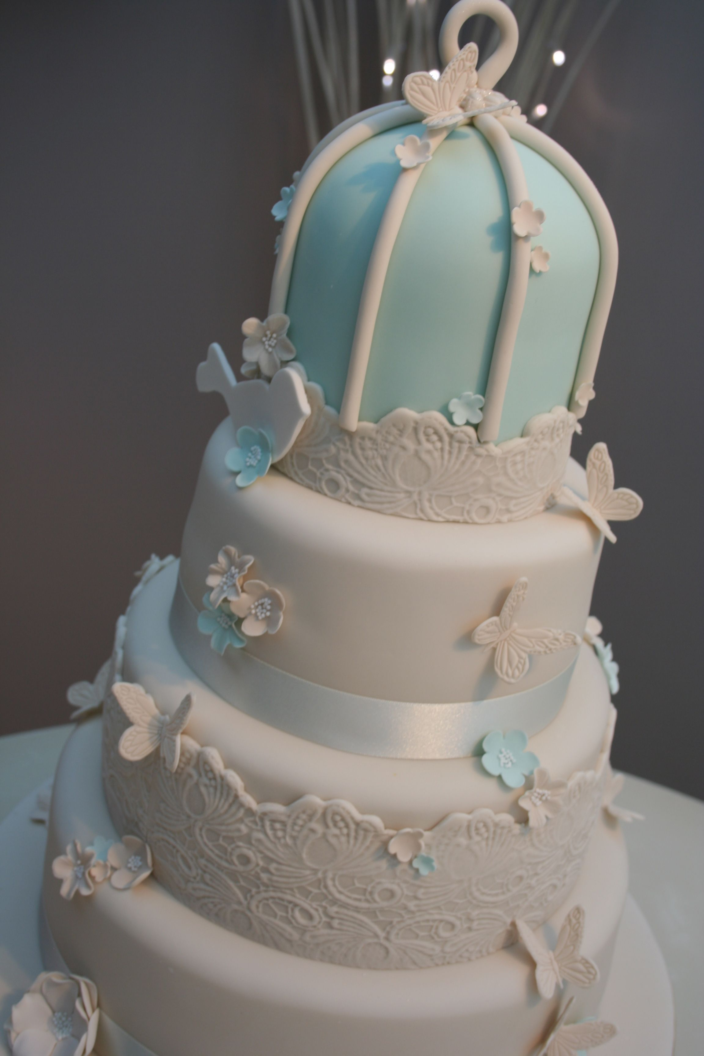 duck egg blue wedding cake wedding cakes robins egg blue tier duck egg blue 13774