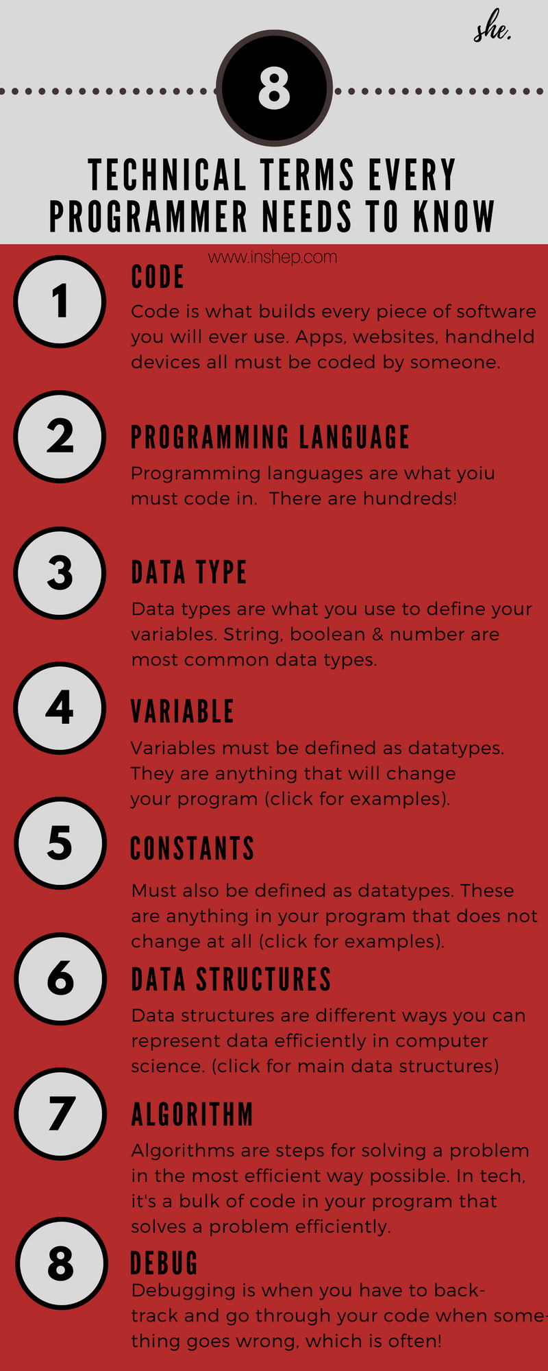 programming vocabulary