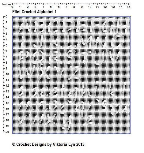 Crochet Letter Patterns Erkalnathandedecker