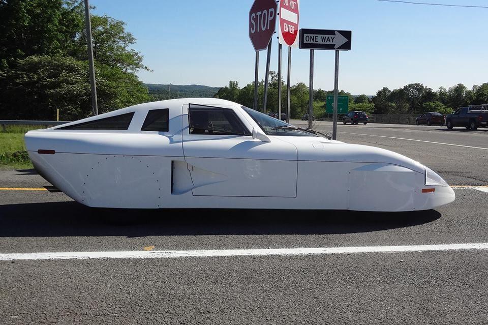 What is it? (Spotted: rear engine TDI, custom aero body) - Fuel ...