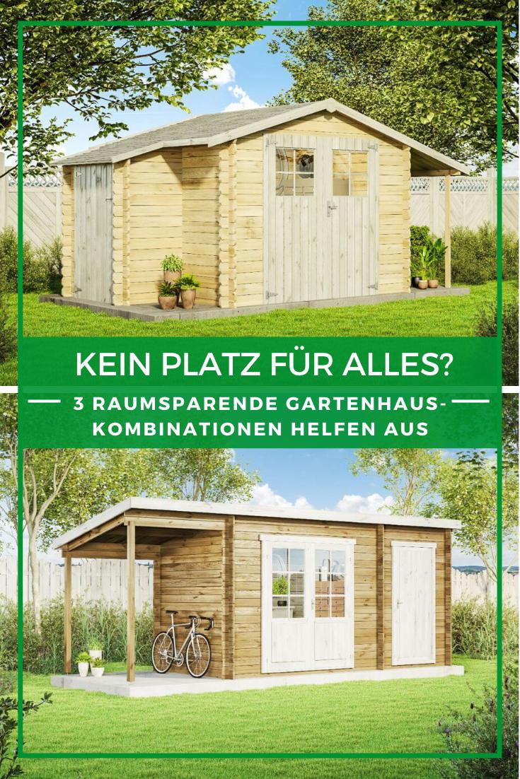 Gartenhaus Kombiniert Gewachshaus Carport Oder Sauna Gartenhaus Garten Garten Gewachshaus