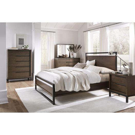 Modus Furniture Prague Platform Customizable Bedroom Set - Prague bedroom furniture set