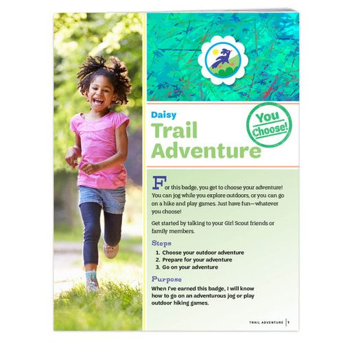 Daisy Trail Adventure Badge Requirements With Images