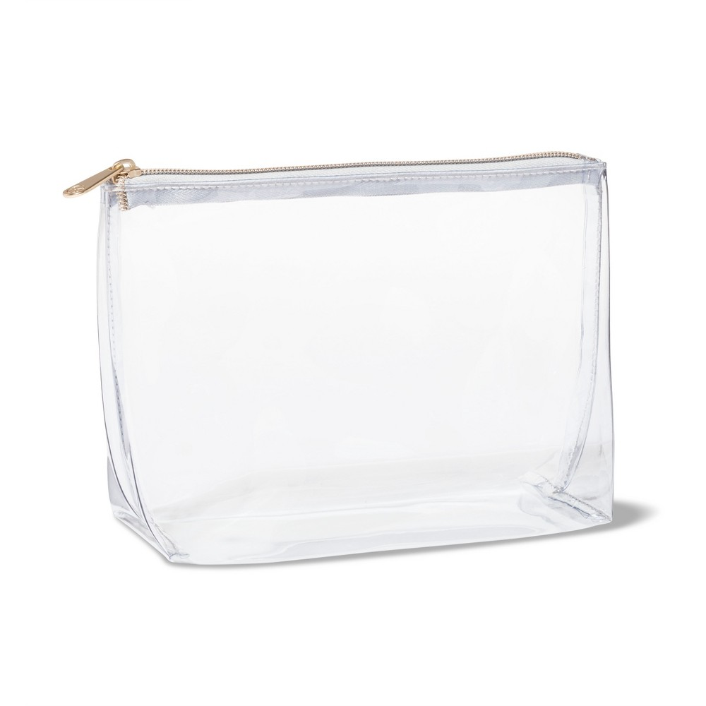 Sonia Kashuk Square Clutch Makeup Bag Clear In 2020 Makeup Bag Clear Makeup Bags Clear Makeup Bag Travel