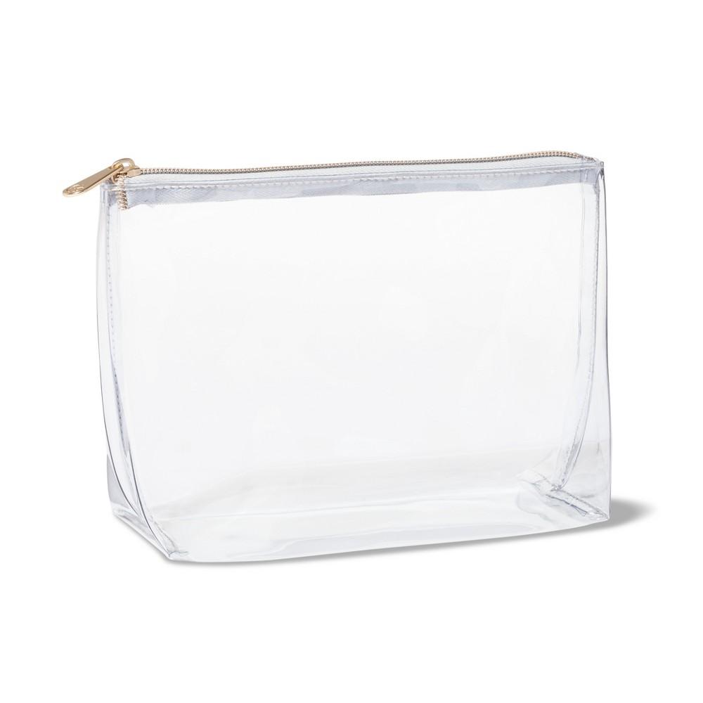 Download Sonia Kashuk Square Clutch Makeup Bag Clear Clear Makeup Bags Makeup Bag Makeup Bags Travel