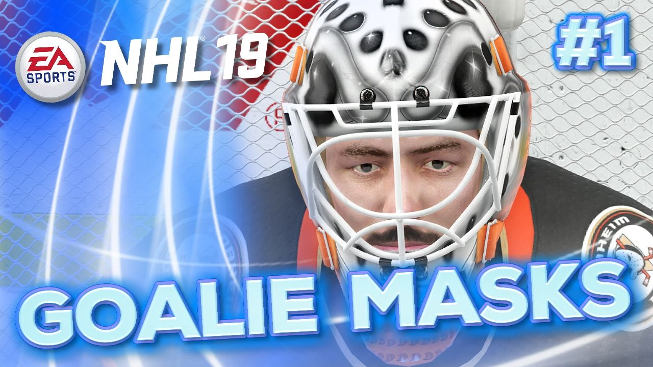 Nhl Goalie Masks In Nhl 19 Part 1 We Feature All The Nhl Goalie Masks That Feature In The Nhl 19 Game This Is Part 1 For Teams In Goalie Mask Goalie Nhl