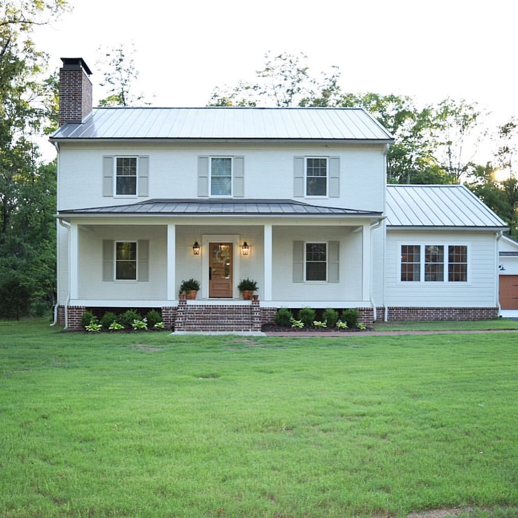 Farmhouse House Plans You All Have Asked And We Are Delivering Our House Plans Are Small House Design Exterior Brick Exterior House Simple Ranch House Plans