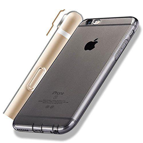 COVER TRASPARENTE per IPHONE 6S - 6 Morbida Silicone 03 mm sottile