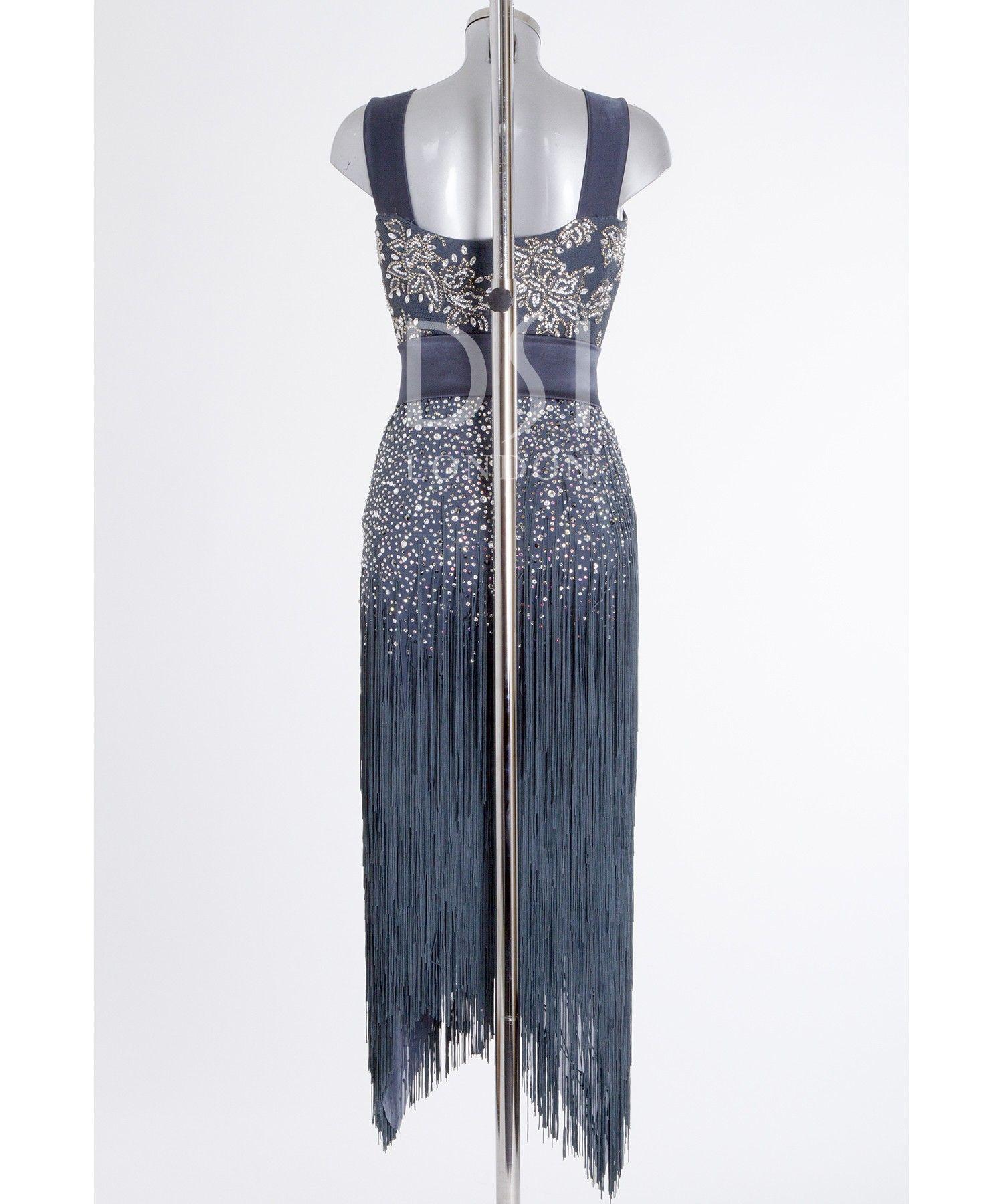 393539 Hematite Latin Dress | Latin dresses for sale ...