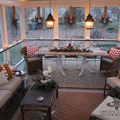 Screened In Porch Decorating Ideas Simple