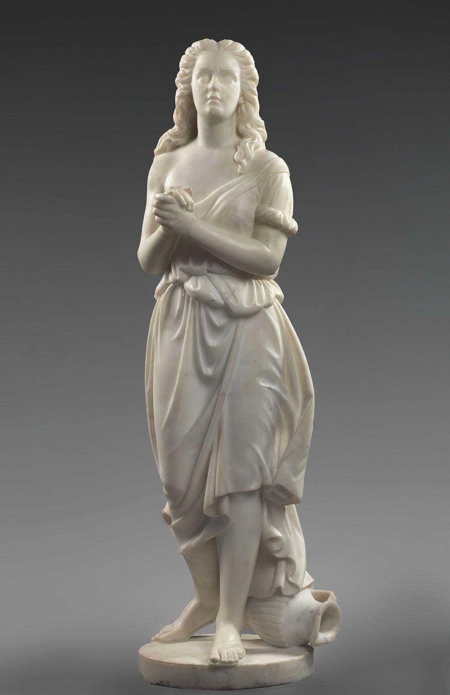 "Edmonia Lewis: ""Hagar"",1875. (Courtesy of Smithsonian American Art Museum.) http://americanart.si.edu/"