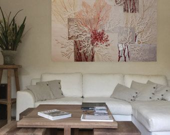 Painting CORAL BARRIER REEF,big painting, Marine Landscape, Natural Art, Modern style