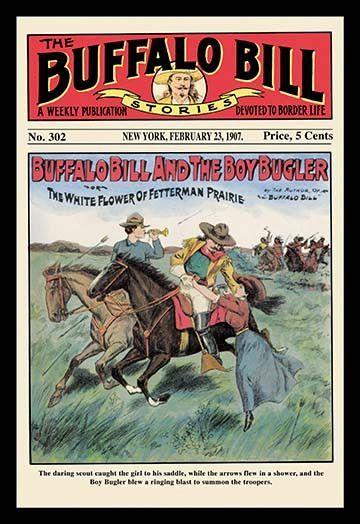 The Buffalo Bill Stories Buffalo Bill And The Boy Bugler Western