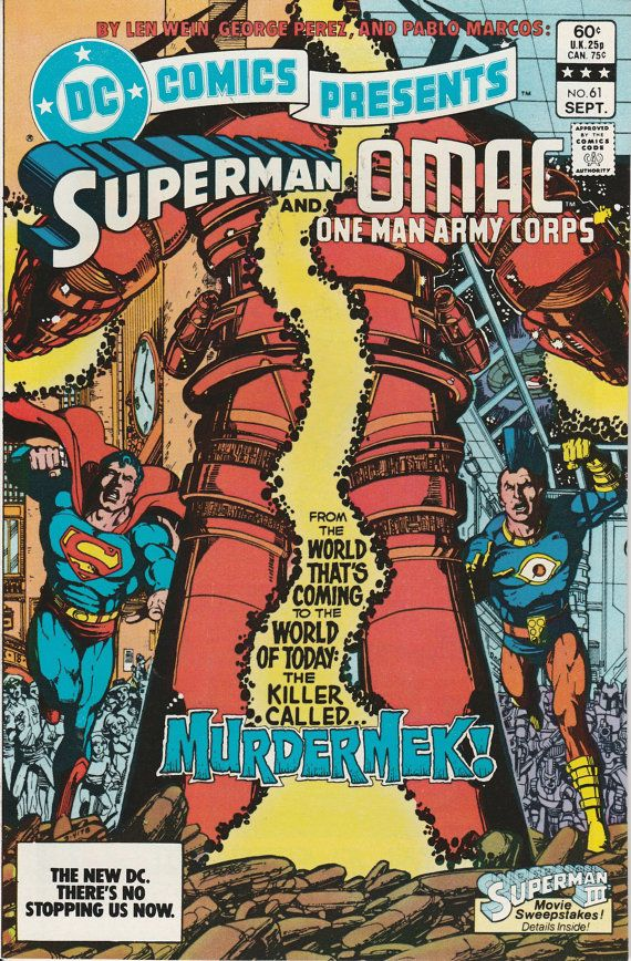 DC Comics Presents Vol. 6 No. 61  1983  Superman and OMAC, One Man Army Corps by TheSamAntics