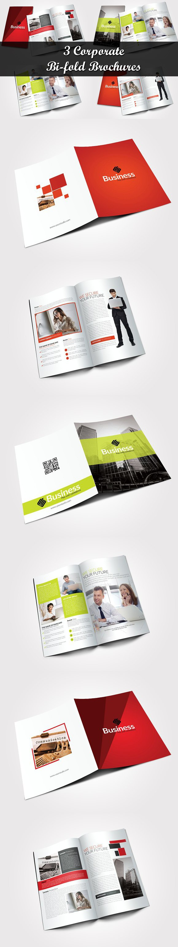 3 corporate bi fold brochure bundle creative business card 3 corporate bi fold brochure bundle creative business card templates wajeb