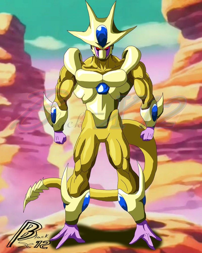 Golden Cooler Dbz Dragon Ball Dragon Ball Z Dragon