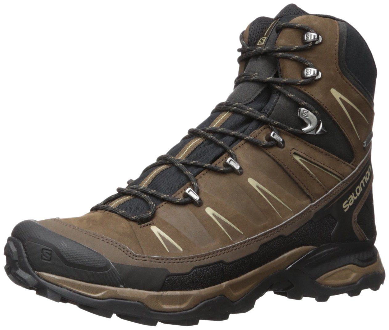 Salomon Men's X Ultra Trek GTX Absolute Brown-X/Black/Navajo ...
