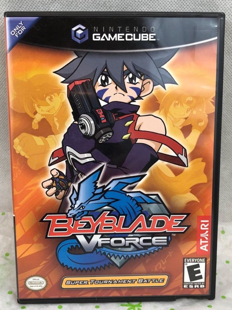 Nintendo GameCube Beyblade V Force Video Game With Manual