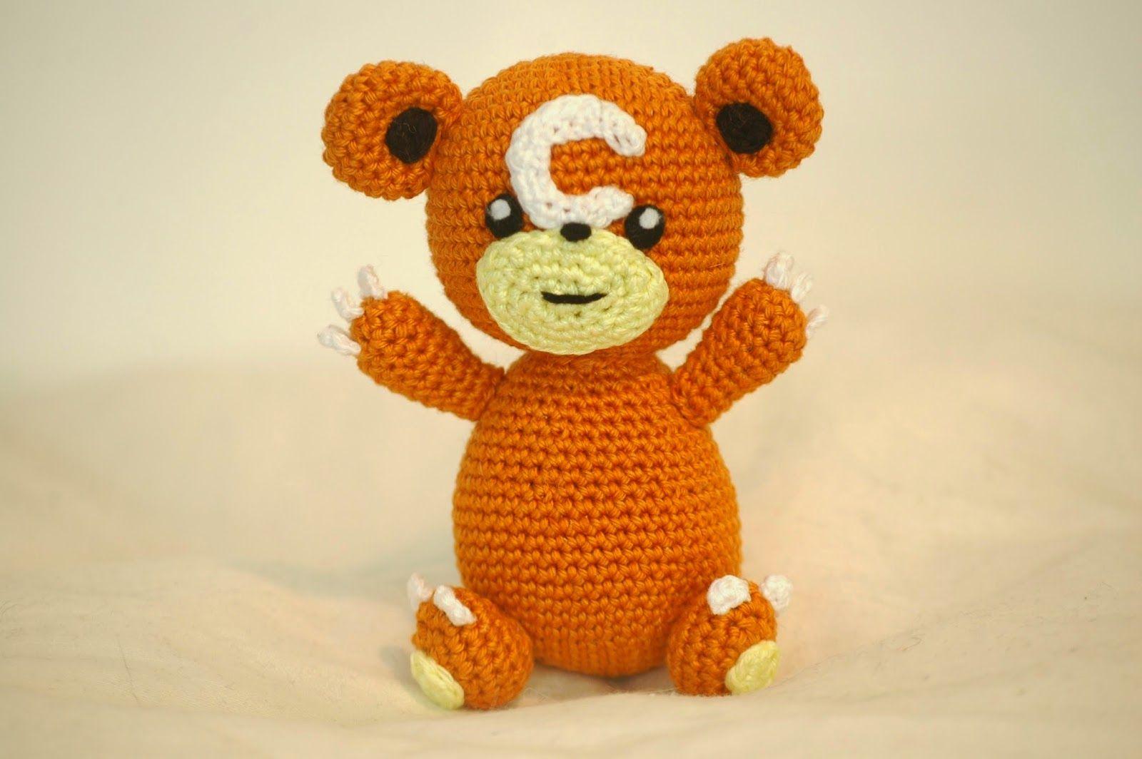 Crochet pattern Teddiursa   Pokémon