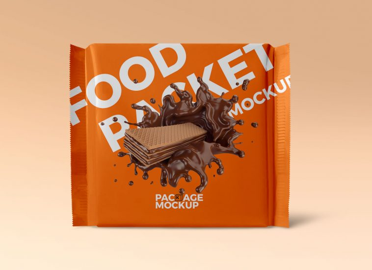 Download Free Biscuit Packet Foil Pouch Mockup Free Package Mockups Free Packaging Mockup Foil Pouches Packaging Design Inspiration