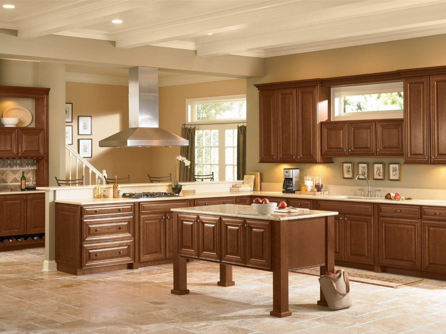 Mckinley Shenandoah Cabinetry Just Imagine It In Linen White From Lowe S Maple Kitchen Cabinets Kitchen Design Kitchen Cabinets