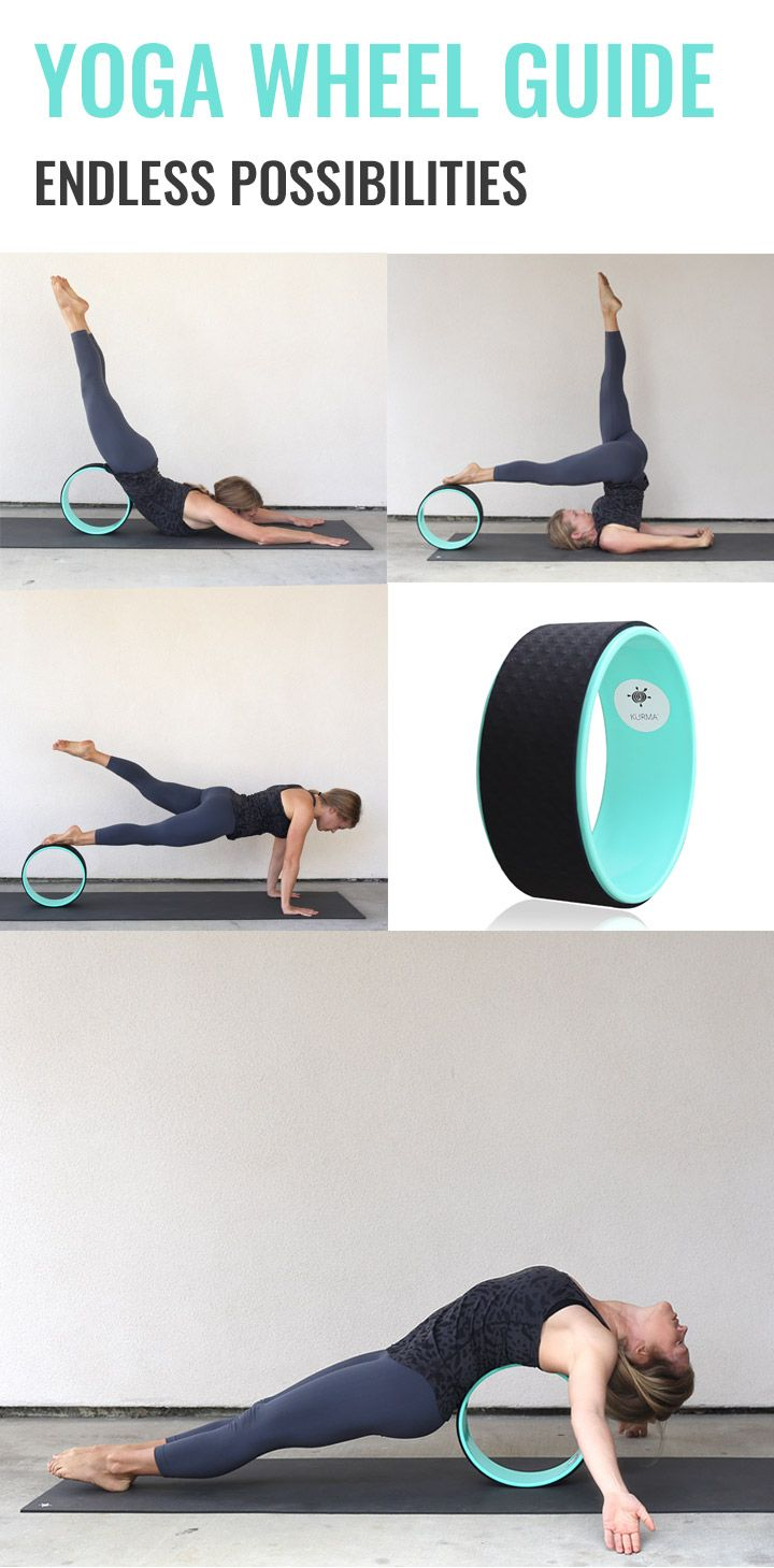 Get a free yoga wheel guide with 50+ poses to do with your yoga ...