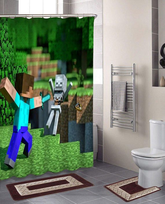 Awesome Minecraft Bathroom Style