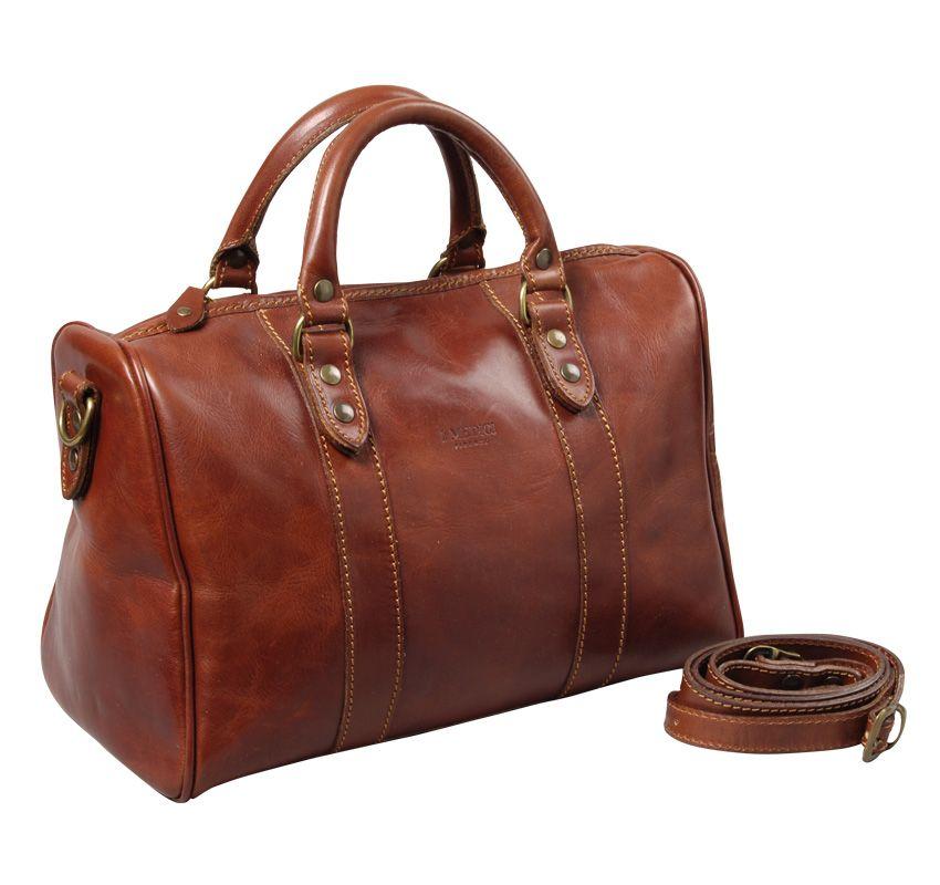 8fc80e949b2f I Medici Firenze Leather Italian Handbag