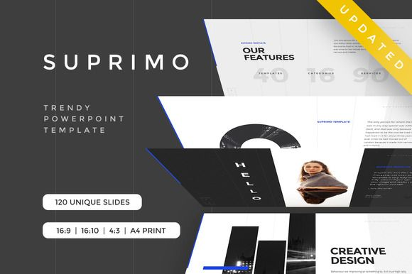 Lorem Ipsum Powerpoint Template by Rits Studio on @creativemarket - keynote template